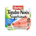 Herta -  tendre noix jambon cuit porc qualite superieur decouenne degraisse 4 t standard  3154230049203