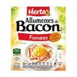 Herta -  aide culinaire allumette bacon fume standard  3154230050667