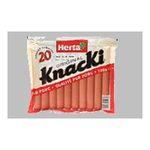 Herta -  knacki saucisse pate fine skin nature x 20 knacki standard standard meuble refrigere  3154230054139