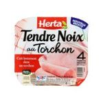 Herta -  tendre noix jambon cuit porc qualite superieur decouenne degraisse 4 t standard  3154230055129