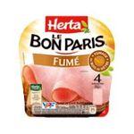 Herta -  le bon paris jambon cuit porc qualite superieur decouenne degraisse 4 t standard  3154230068662