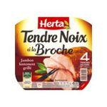 Herta -  tendre noix jambon cuit porc qualite superieur decouenne degraisse 4 t standard  3154230072942