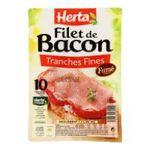 Herta -  charcuterie tranchee crue filet bacon fume standard  3154230089209