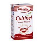 Elle & Vire -  Elle & Vire Professionnel | Cuisinel Crème légère UHT | Colis de 6 bricks de 1 l - Le litre 3161910365522