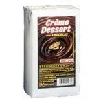 Elle & Vire -  Elle & Vire Professionnel | Crème dessert chocolat | Pack de 6 bricks de 1 l - Le litre 3161910996047