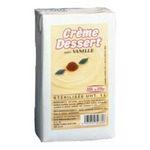 Elle & Vire -  Elle & Vire Professionnel | Crème dessert vanille | Pack de 6 bricks de 1 l - Le litre 3161910996160