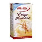 Elle & Vire -  Elle & Vire Professionnel | Crème anglaise arôme vanille | Pack de 6 bricks de 1 l - Le litre 3161917790495