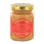 Albert Menes - French Mustard With Espelette Pepper Albert Menes-Moutarde Au Piment D'Espelette Albert Menes -  3162900027673