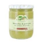Albert Menes -   menes legumes mixtes bocal verre standard cuisine mousseline mousseline de pois au pointe d'asperge  3162900070600