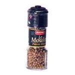 Ducros -   le moulin poivre moulin a poivre grains poivre blanc  3166291134507