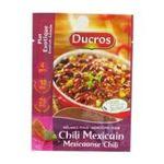 Ducros -   sachet malin melange doy pack poudre melange pour chili mexicain  3166291440400