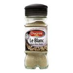 Ducros -   poivre flacon verre moulu poivre blanc  3166291498104