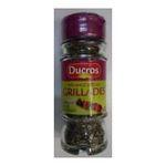 Ducros -   melange malin melange flacon verre poudre melange pour grillade  3166291500807