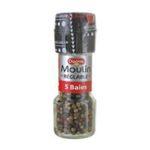 Ducros -   moulin reglable poivre moulin reglable grains 5 baies  3166291530705