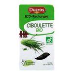Ducros -    boîte éco-recharges ciboulette bio ducros  3166291539500