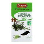 Ducros -    boîte éco-recharges herb provence bio ducros    ECO RECHARGE HERBES DE PROVENCE BIO 12G DUCROS 3166291539609