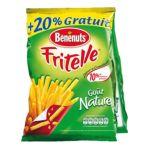 Benenuts - Fritelle - Snack goût nature +20% gratuit 3168930000327