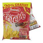 Benenuts - Fritelle - Snack goût bacon + 20% gratuit 3168930000334