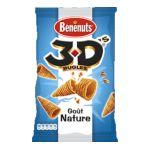 Benenuts - 3D's Bugles - Snack goût nature 3168930000990