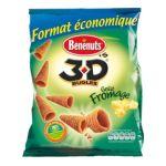 Benenuts - 3D's Bugles - Snack goût fromage 3168930001782