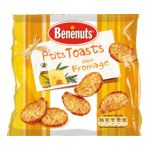 Benenuts - P'tits Toasts - Snack goût fromage 3168930003236