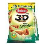 Benenuts - 3D's Bugles - Snack goût fromage + 15% gratuit 3168930003441