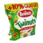 Benenuts - Twinuts - Snack goût bacon +10% gratuit 3168930003489