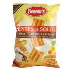 Benenuts - P'tites tuiles apéritif saveur crème et poivre noir Pépites de Soleil  3168930003731