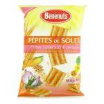 Benenuts - P'tites tuiles apéritif saveur oignon grillé et romarin Pépites de Soleil 3168930003748