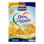 Quaker Oats - quaker oats petales nature 375 gr  3168930004127
