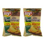 Pepsi - Chips paysanes Lay's, 2x135g+10% gratuit 3168930004158
