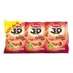 Benenuts - 3D's Bugles - Snack goût bacon 3168930004653