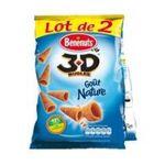 Benenuts - 3D's Bugles - Snack goût nature 3168930004684