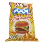 Pepsi - Chips saveur cheeseburger max craquantes Lay's  75cl  3168930004882