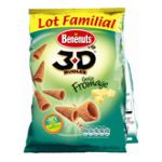 Benenuts - 3D's Bugles - Snack goût fromage 3168930005490