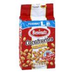 Benenuts - Graines - Cacahuètes grillées salées 3168930005537