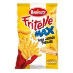 Benenuts - Fritelle Max - Snack goût jambon fromage 3168930006374