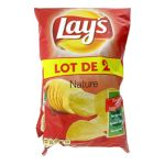 Pepsi - Chips nature Lay's 2 x 135 g 3168930006480