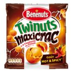 Benenuts - Twinuts maxicrac - Snack goût Hot & Spicy 3168930007050