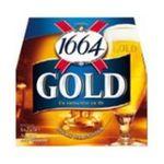 1664 -  de kanterbrau biere bouteille verre  6ct 6.1 degres blonde  3173600000248