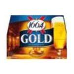 1664 -  de kanterbrau biere bouteille verre  12ct 6.3 degres blonde  3173600001122