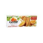 Gerblé -   biscuit patissier paquet papier germe de ble standard gerble rectangle soja orange simple  3175680011442
