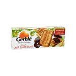 Gerblé -   biscuit patissier boite carton lait standard gerble rectangle pepite de chocolat simple  3175680011534