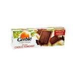 Gerblé -   choco fondant biscuit patissier boite carton nature standard choco fondant nap tablette chocolat noir rectangle chocolate  3175680012937