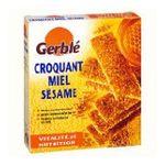 Gerblé -   croquant biscuit patissier sachet individuel en boite carton nature standard gerble long sesame et miel simple  3175680905383
