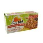 Gerblé -   biscuit patissier boite carton nature standard gerble rectangle pepite de chocolat et sesame simple  3175681790285