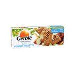 Gerblé -   biscuit patissier sachet cellophane germe de ble standard gerble rectangle pomme noisette simple  3175681851849