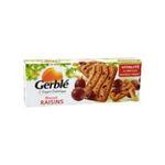 Gerblé -   biscuit patissier boite carton nature standard gerble rectangle raisin simple  3175681851856