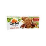 Gerblé -   biscuit patissier boite carton nature standard gerble rectangle soja et figue simple  3175681851863