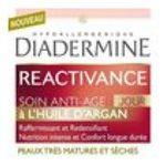 Diadermine -   reactivance produit pour visage pot dans boite carton soin anti age jour a l'huile d'argan peau tres mature et seche etagere  3178040675216